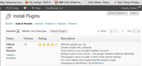 WP Plugin for Cloaking Affiliate Links