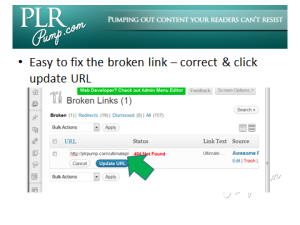 Broken LInk Fixer