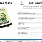 Alternative Healing Practices PLR