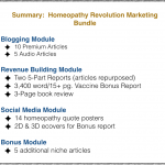 Homeopathy Rev Marketing Bundle