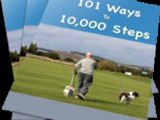 101 Ways to 10,000 Steps Walking PLR