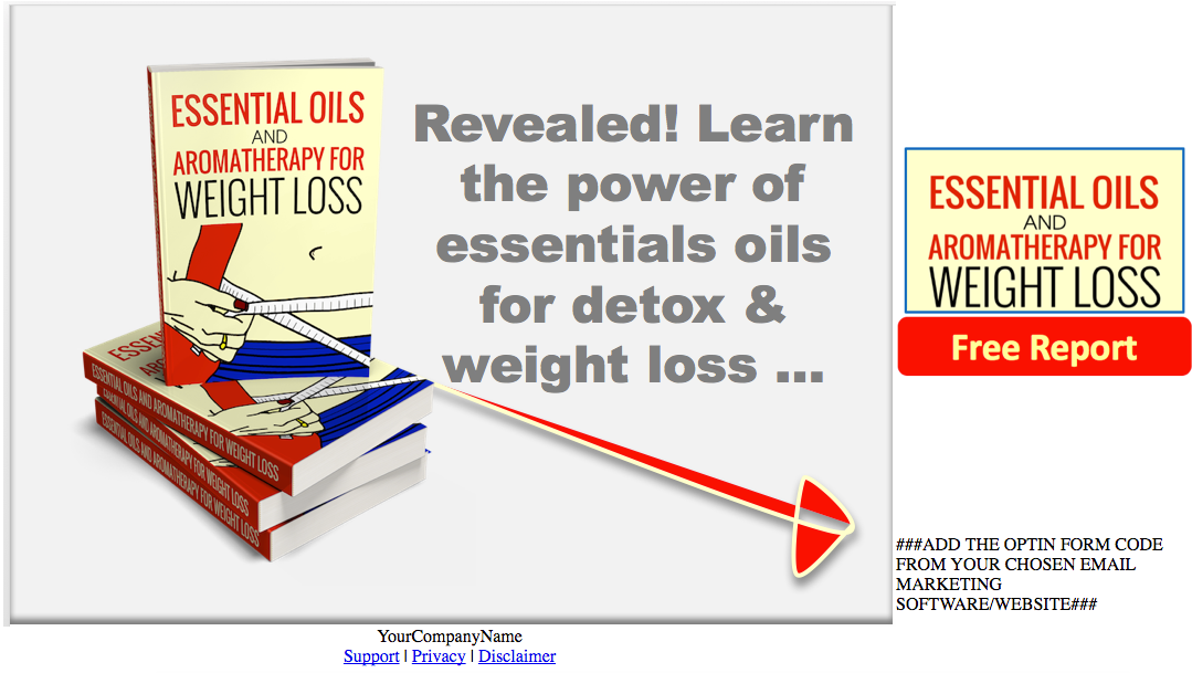Eo Detox Weight Loss Plr Pump