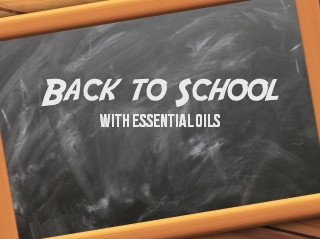 Essential Oils Back to School