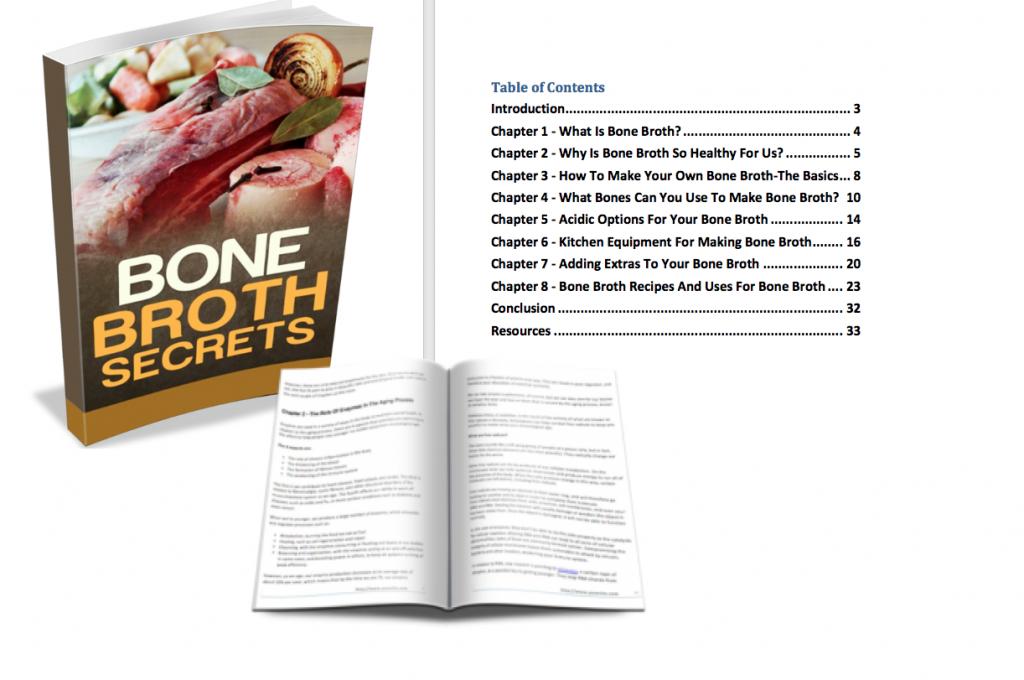 Bone Broth Secrets PLR eBook